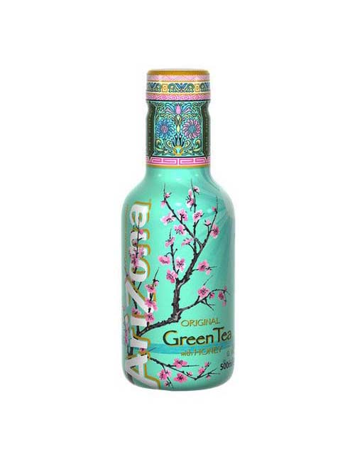 ARIZONA GREEN TEA HONEY 050 PET