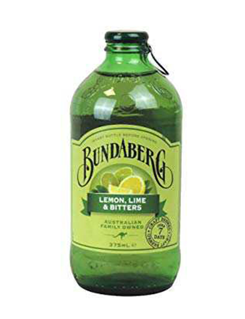 BUNDABERG LEMON LIME & BITTERS 0375