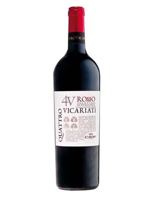 Vino - CAVIT 4 VICARIATI '16 075 TRENTINO SUP. DOC ROSSO