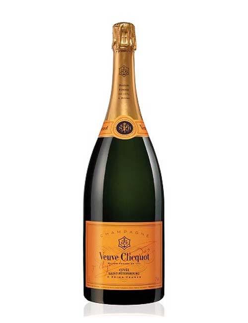 Vino - VEUVE CLIC. CHAMPAGNE S.PETERSBOURG 075 BRUT CHARD. PINOT MEUNIER PINOT N.
