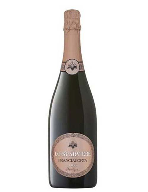 Vino - LO SPARVIERE FRANCIAC. DOCG ROSE BRUT MONIQUE 075 PINOT N. 24M
