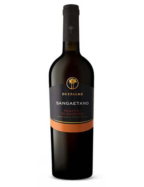 Vino - DUE PALME SANGAETANO PRIMITIVO 075 DOP MANDURIA