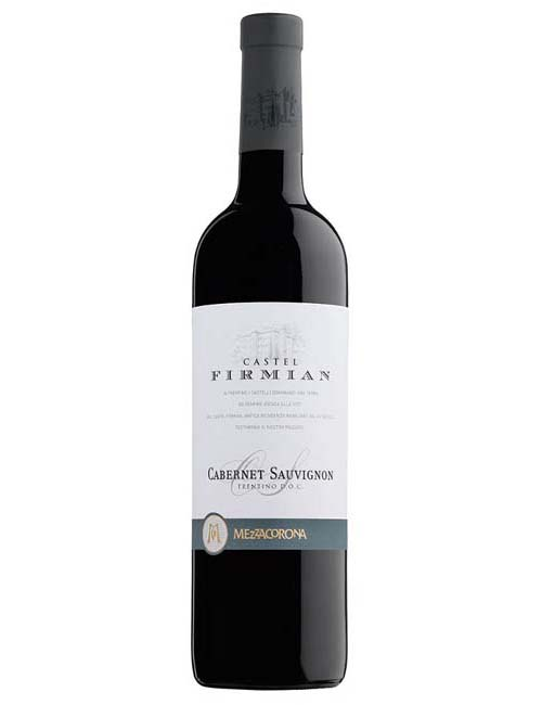 Vino - CASTEL FIRMIAN CABERNET SAUV. 075 DOC