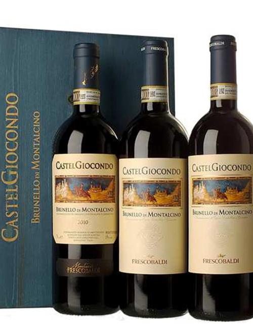 Vino - FRESCOB. BRUNELLO DI M. DOCG CASTELGIOC 075 VERTICALE '10'11'12  SANGIOV.
