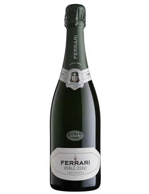 Vino - FERRARI PERLE' ZERO CUVEE ZERO '12 075 TRENTO DOC CHARDON. 06/08/09/10 6AN