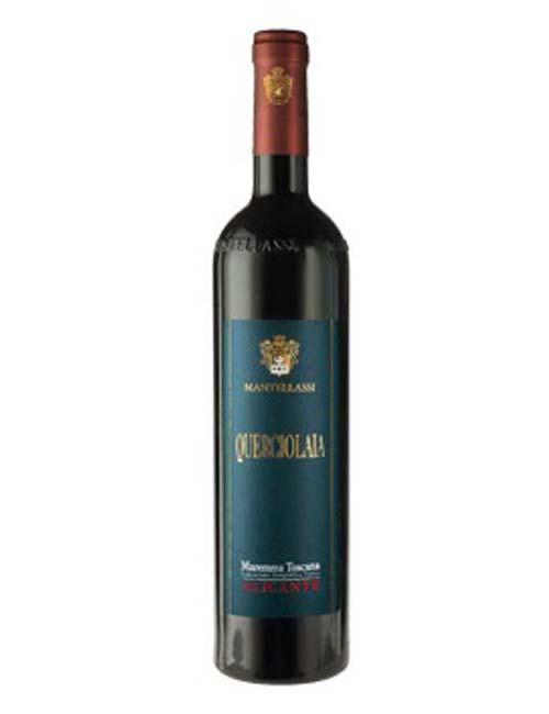 Vino - MANTELLASSI QUERCIOLAIA '13 075 DOC MAREMMA TOSCANA  ALICANTE