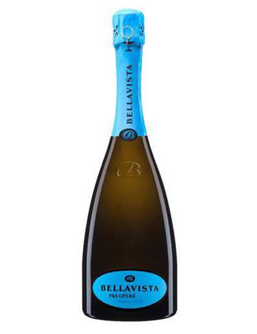 Vino - BELLAVISTA FRANCIAC. DOCG PAS OPERE 075 RIS. '10 EXTRA B. CHARD. PINOT N. 6AN.