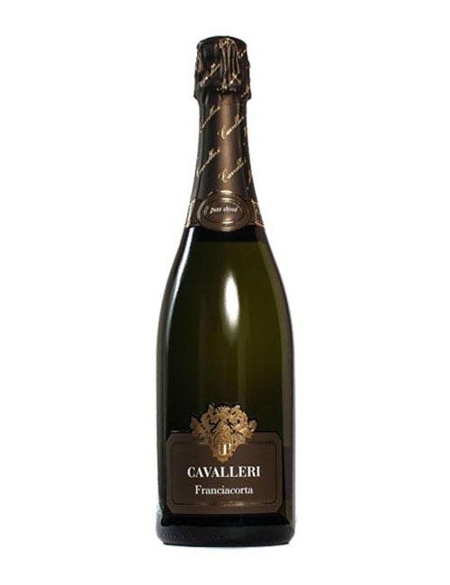 Vino - CAVALLERI FRANCIAC.DOCG PAS DOSE' '13 075 SB.'18 CHARD. PINOT N. 60M
