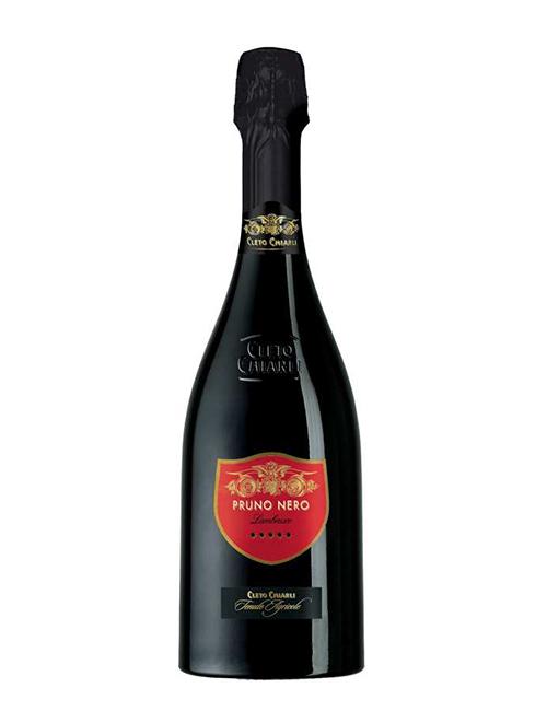 Vino - *CHIARLI PRUNO NERO SPUMANTE DRY 075