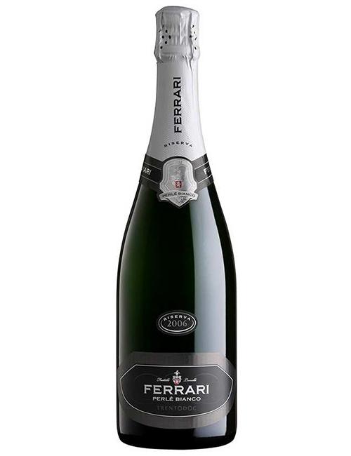Vino - FERRARI PERLE' BIANCO TRENTO DOC '10 075 SB.'19