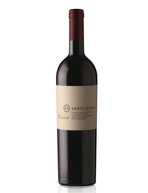 Vino - CECCHETTO MERLOT SANTE ROSSO '18 075 MARCA TREVIGIANA IGT