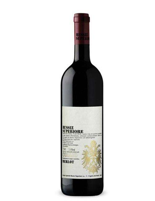 Vino - RUSSIZ SUP.MERLOT COLLIO DOC 075 '17
