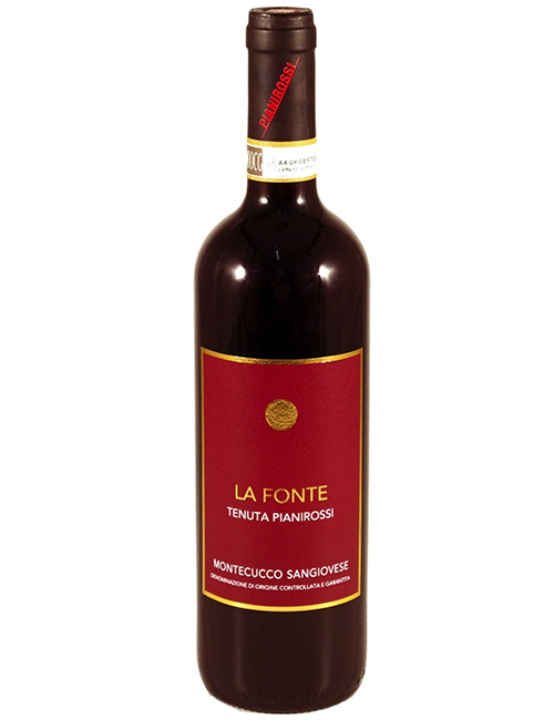 Vino - PIANIROSSI LA FONTE MONTEC.SANGIOV.DOCG 075 '16