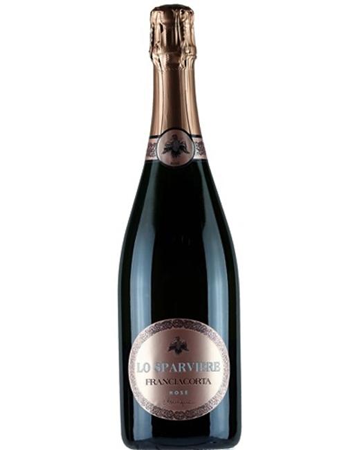 Vino - LO SPARVIERE FRANCIAC.DOCG ROSE'  BRUT MONIQUE 075 PINOT N. 24M SB19