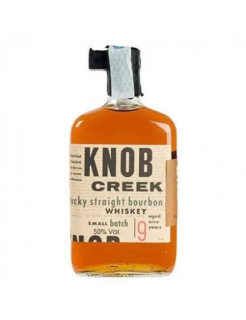 KNOB CREEK BOURBON WHISKEY 9Y 070