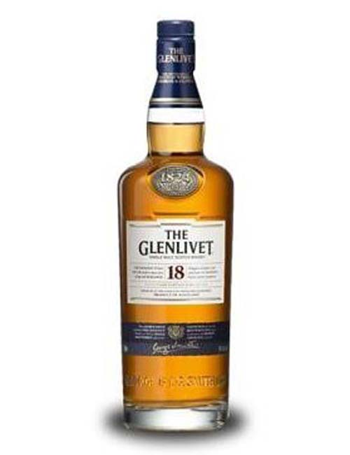 GLENLIVET SINGLE MALT 18Y 070