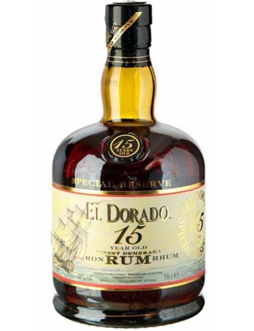 EL DORADO RUM 15Y 070 DEMERARA