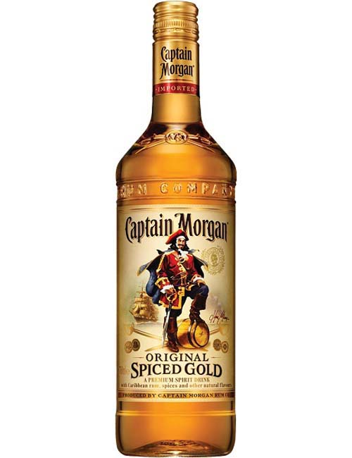 RUM CAPTAIN MORGAN SPICE 100