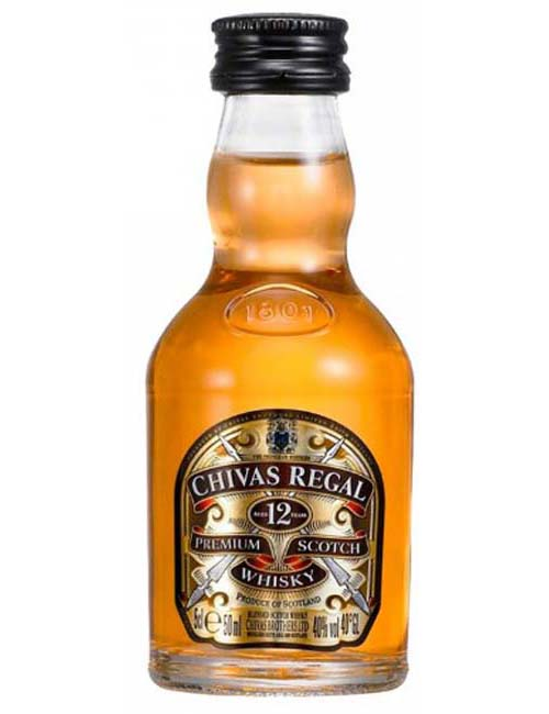 CHIVAS REGAL 12Y MIGNON X 12 005