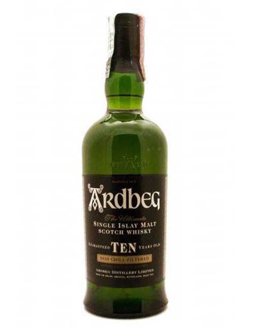 ARDBEG ISLAY SINGLE MALT 10Y 070