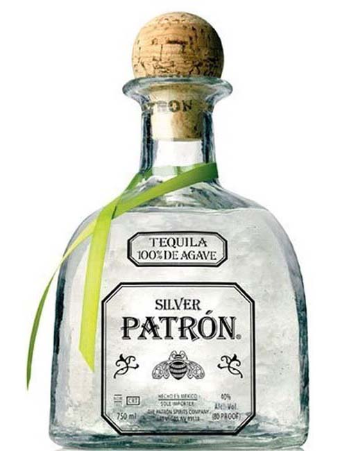 TEQUILA PATRON SILVER 070