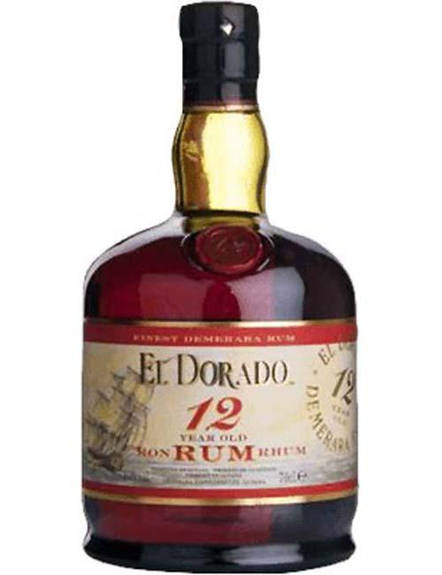 EL DORADO RUM 12Y 070 DEMERARA