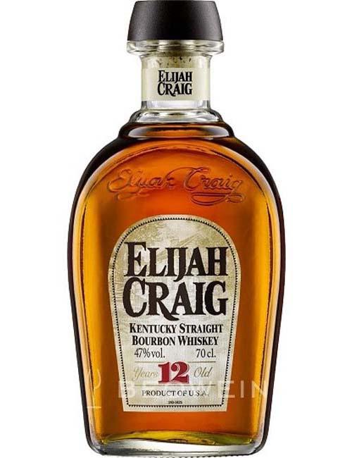 ELIJAH CRAIG BOURBON WHISKEY 12Y 070