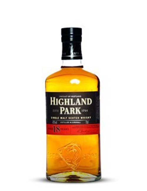 HIGHLAND PARK 18Y SCOTCH WHISKY 070