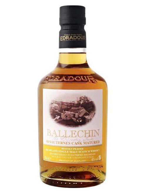 EDRADOUR BALLECHIN SAUTERNES WHISKY 070 DISCOVERY SERIES