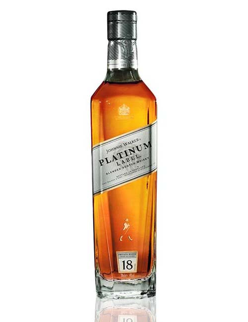 JOHNNIE WALKER PLATINUM WHISKY 070