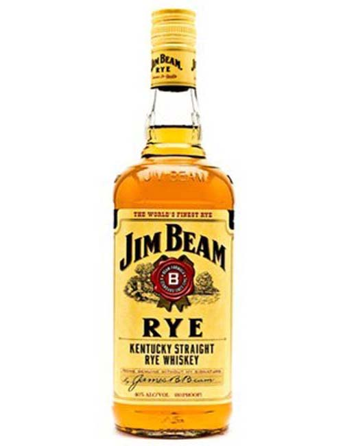 JIM BEAM RYE WHISKEY 070