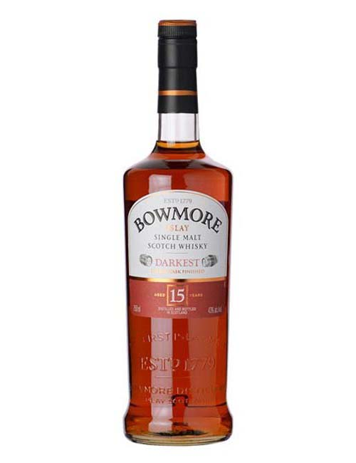 BOWMORE 15Y SCOTCH WHISKY 070