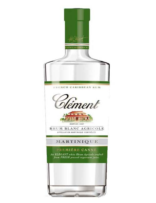 CLEMENT RHUM AGRICOLE BLANC PREMIERE CANNE 070