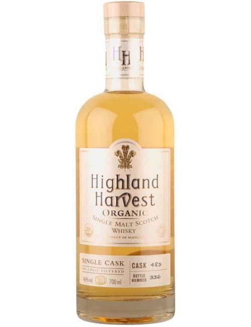 HIGHLAND HARVEST BLENDEND WHISKY 7Y 070 ORGANIC