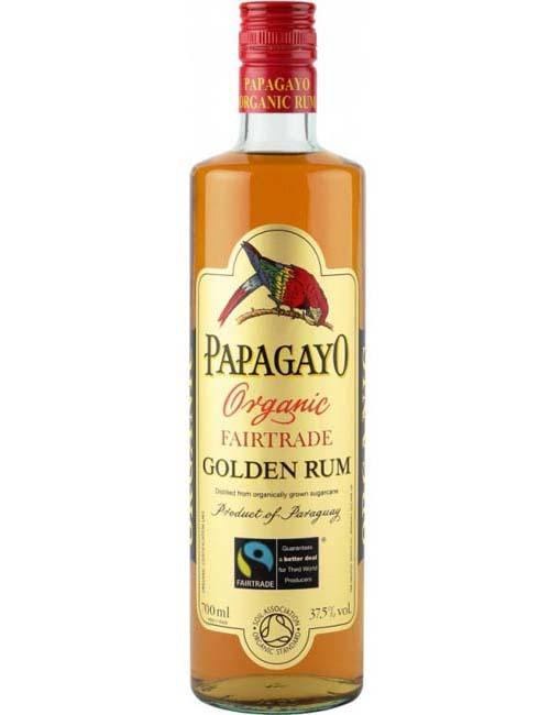 PAPAGAYO GOLDEN ORGANIC RUM 070