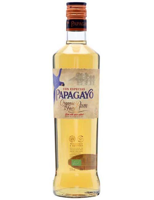 PAPAGAYO SPICED ORGANIC RUM 070