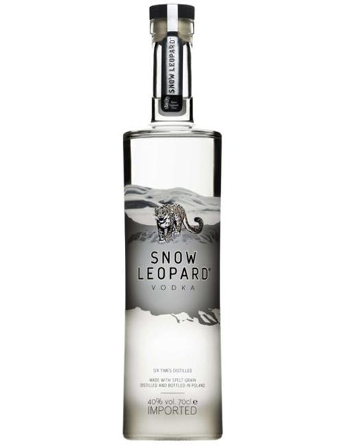 SNOW LEOPARD VODKA  070