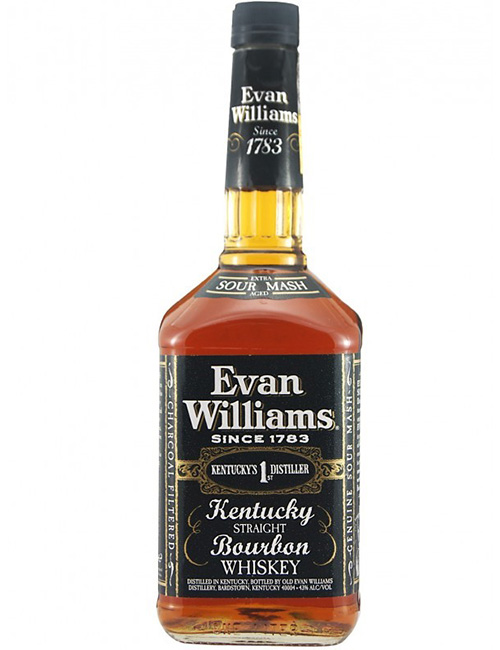 EVAN WILLIAMS BOURBON WHISKEY 070
