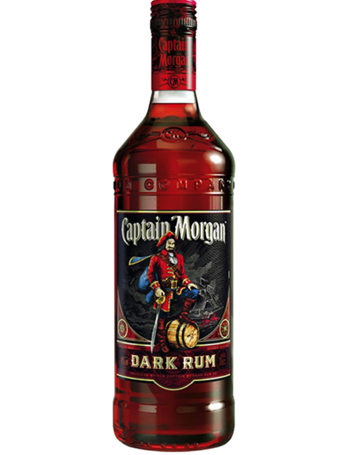 RUM CAPTAIN MORGAN DARK 100